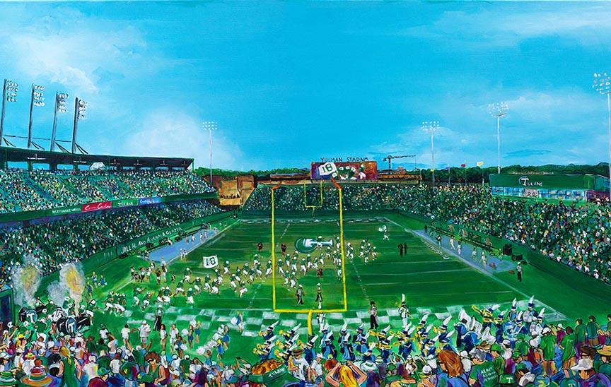 Yulman Stadium Prints by Frenchy